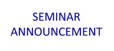 Department of Physics Seminar